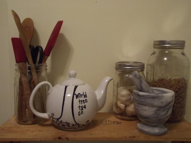 Finished Tea Pot