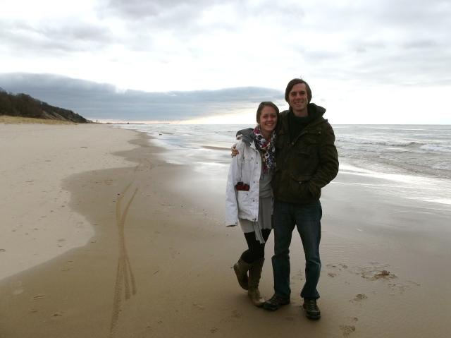 On the Beach on Christmas