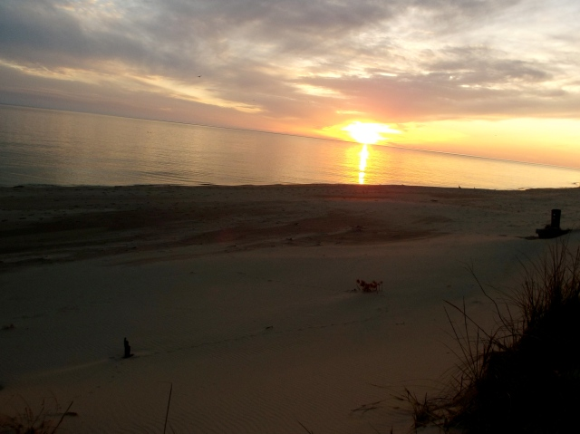 sunset in ludington 05:13
