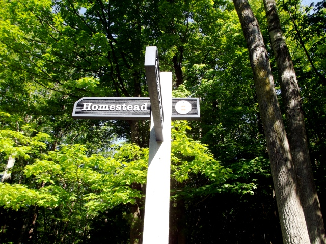 homestead sign