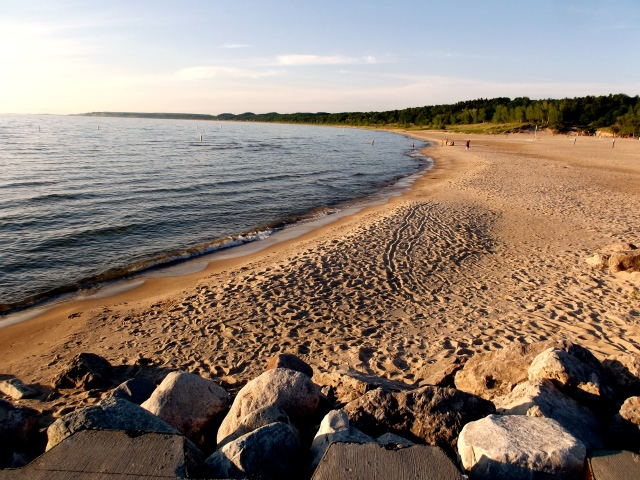 Pentwater Beach from the Pier