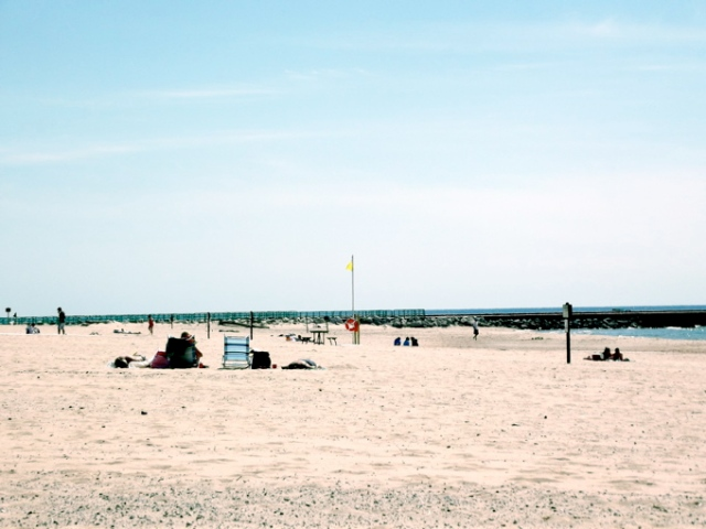 beach on pentwater