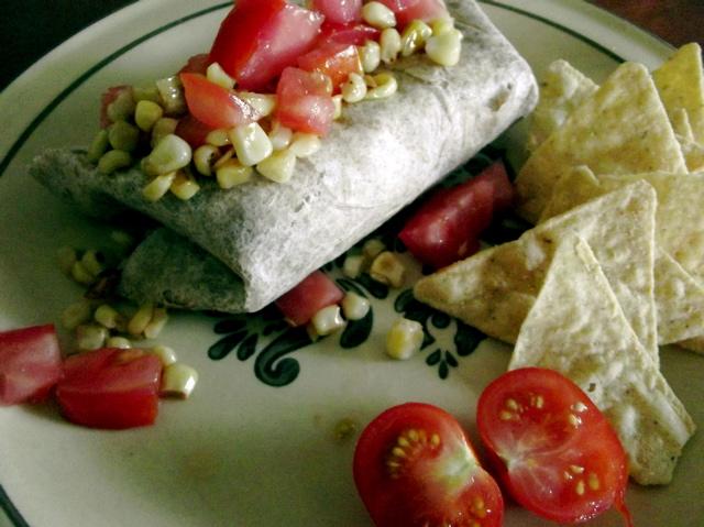 Quinoa Pinto Burrito 2