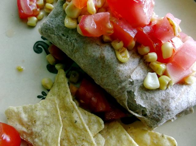 Quinoa Pinto Burrito 3