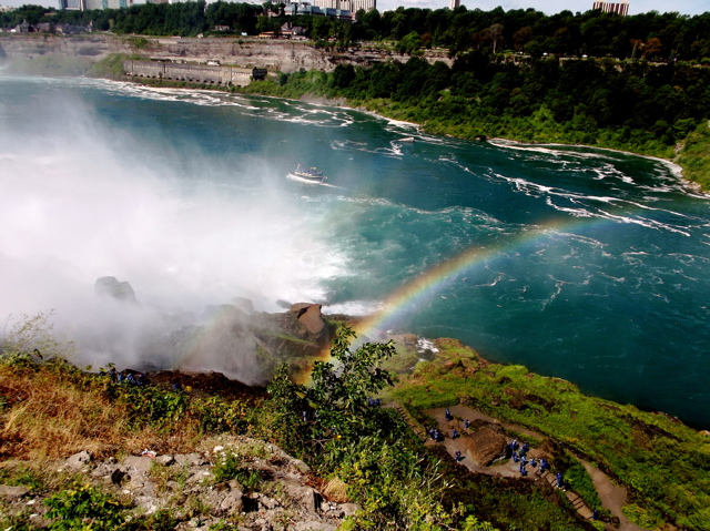 rainbow at niagra